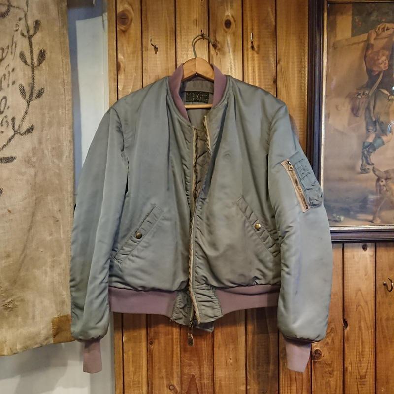 【 1950s  U.S.Air Force 】   MA-1  jacket.