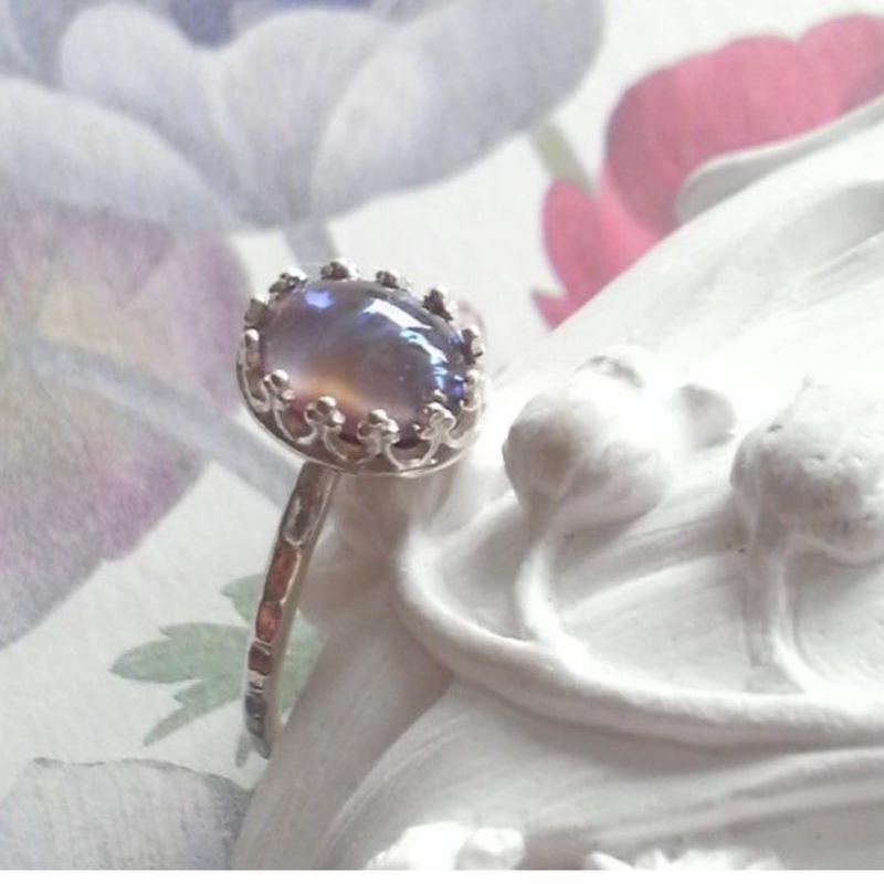 ドラゴンズブレス タンザナイト(8×6) クラシカル指輪