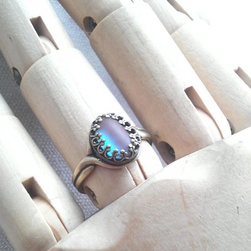 サフィレット フロストBlue クラシカル指輪
