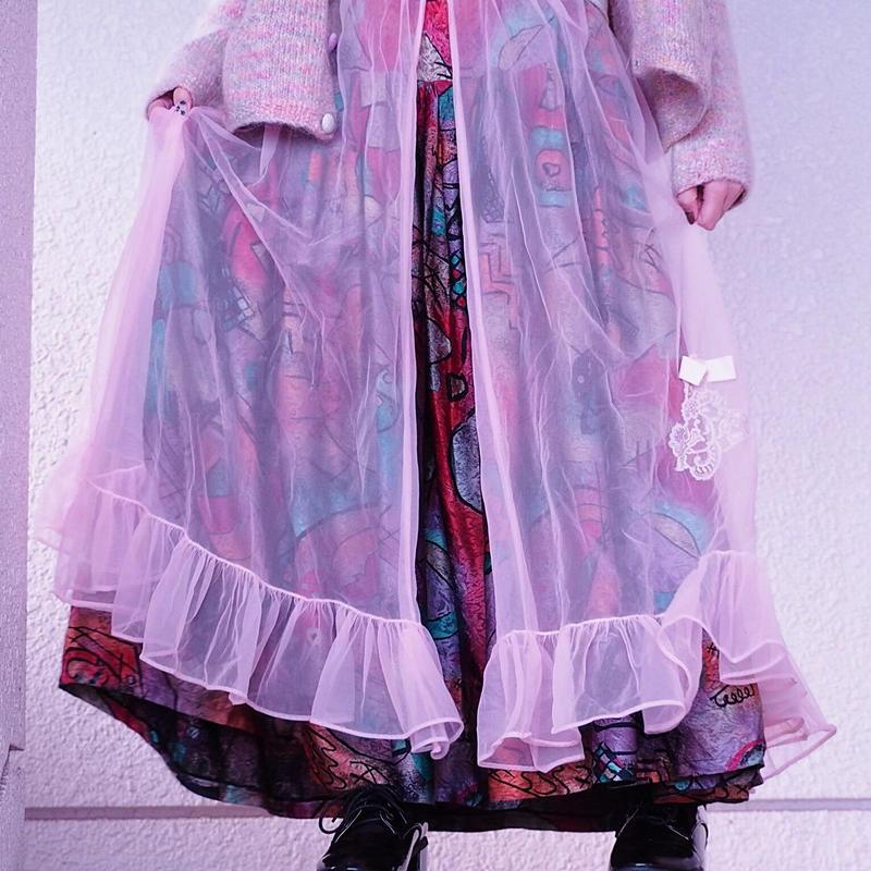 Art Graphic Skirt
