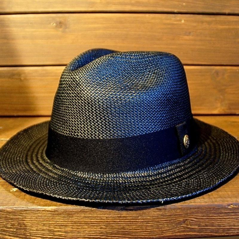 JOHNNY PANAMA HAT 【BLACK】
