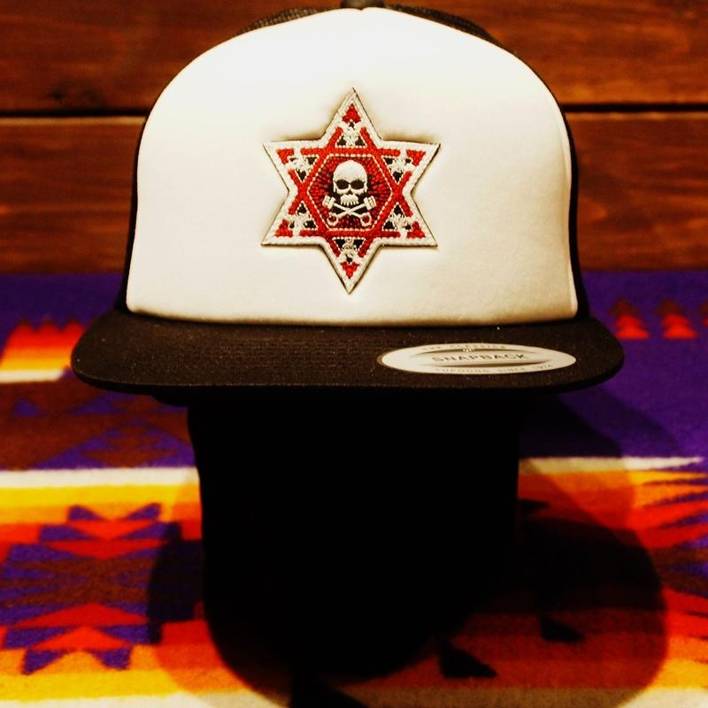 2017 JOHNNY CAP 【BLACK & WHITE】HEXAGRAM