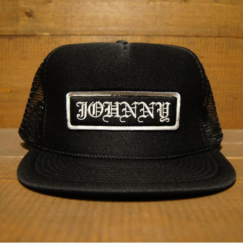 2018 JOHNNY CAP 【BLACK】JOHNNY×CHOP