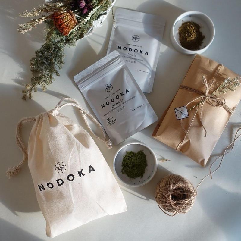 <再入荷>オーガニック日本茶gift set