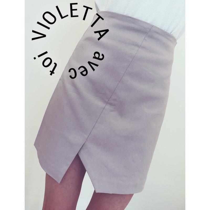 変形スカート♡PINK