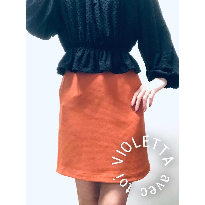 ORANGE🍊台形スカート