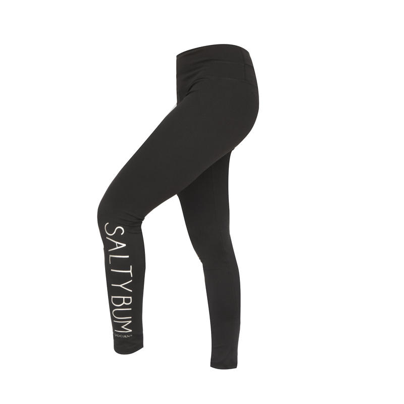 FIT: SALTY BUM BLACK TRAINING PANTS