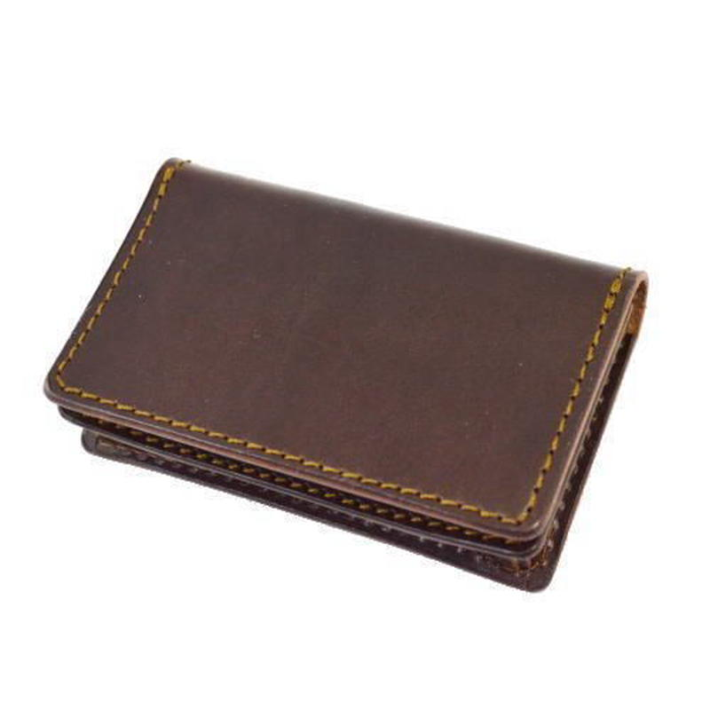 オイルレザー カードケース ブラウン 10005220