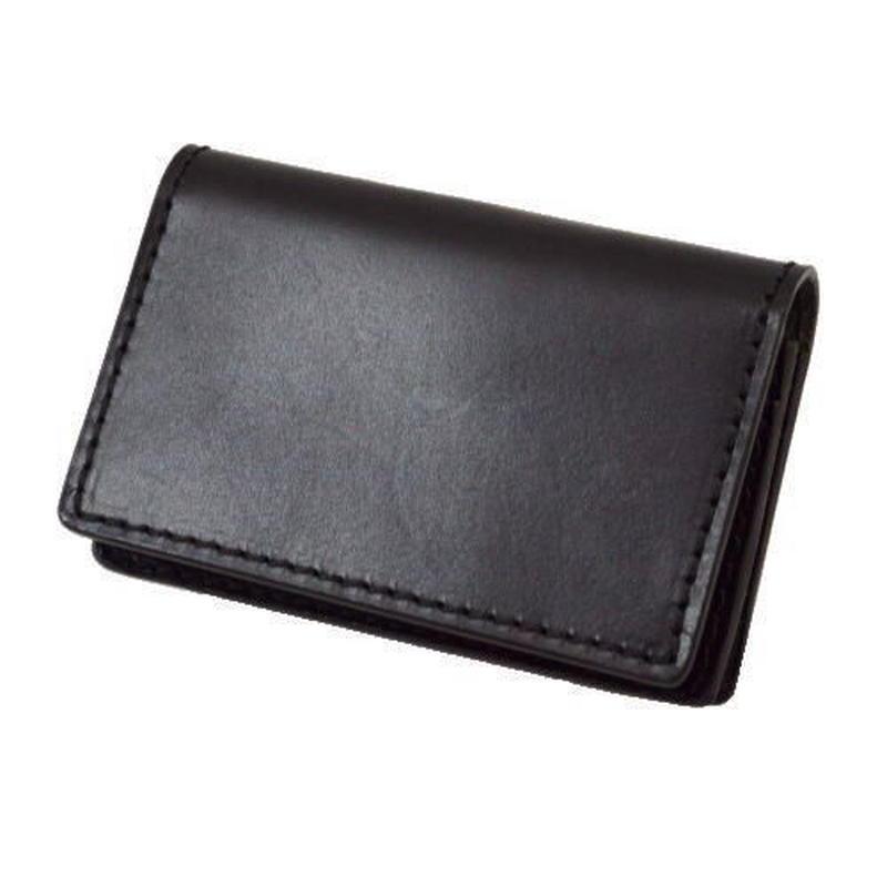 オイルレザーカードケース ブラック 10005514