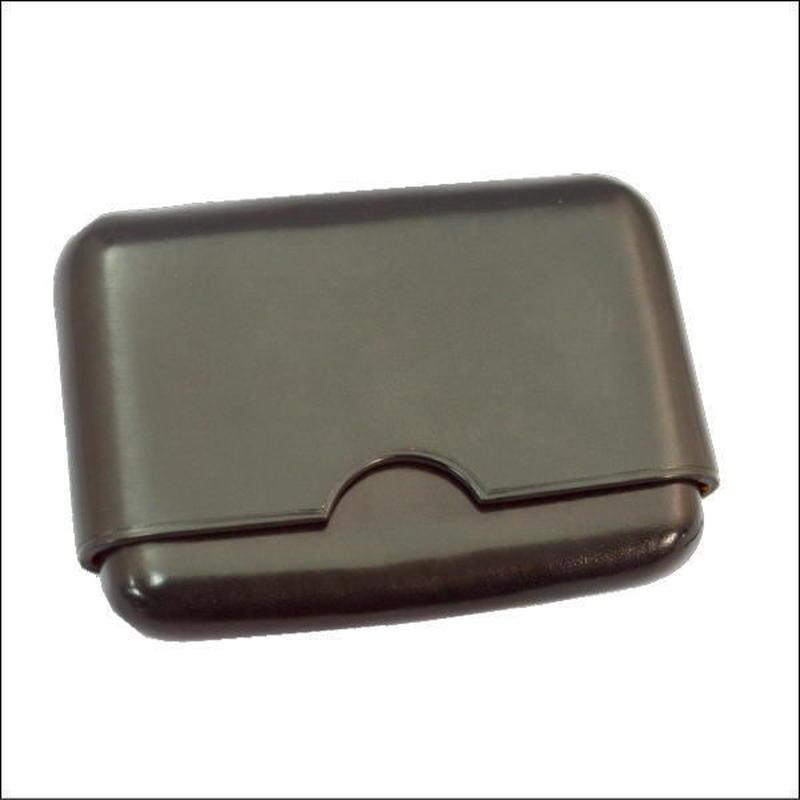 イタリアンレザーカードケース BLACK 10007986