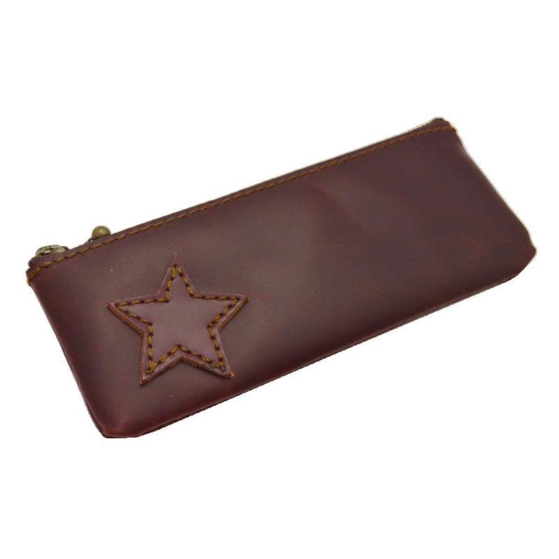 レザーペンケース  STAR BROWN 10006510