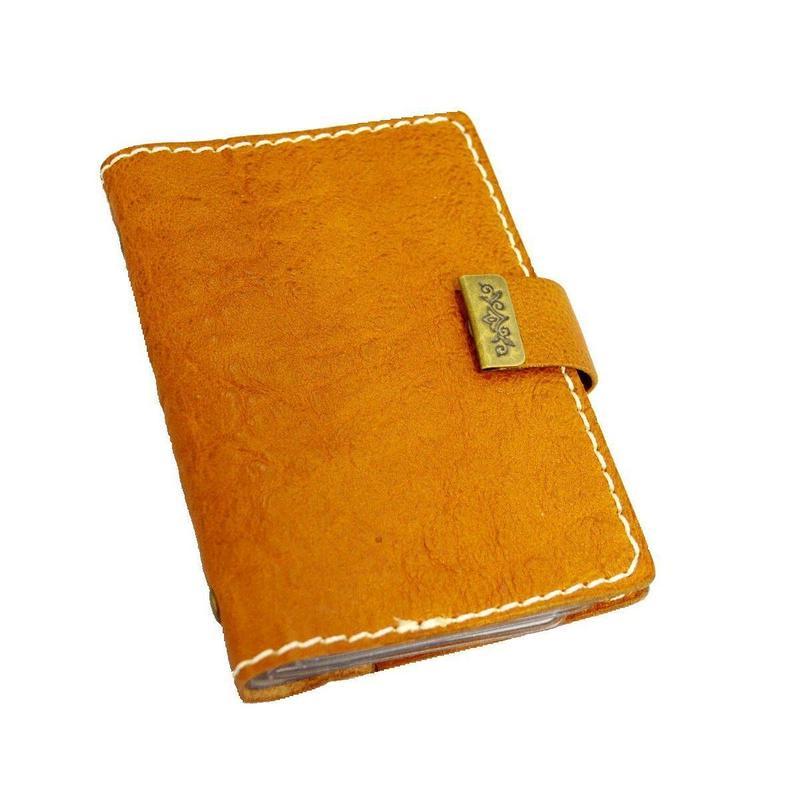 レザー カードケース CAMEL 10007348