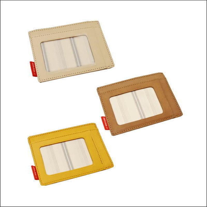 BMS レザーパスケース(革 パスケース/革 小物/革 カードケース/定期入れ)784206