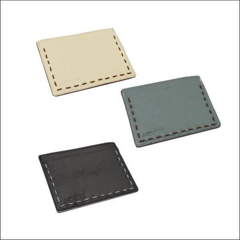 J-BLOCK レザーパスケース (革 パスケース/革 小物/革 カードケース/定期入れ)