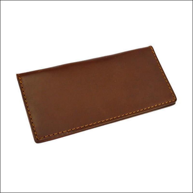 財布 メンズ 長財布 レザー ロングウォレット 薄マチ札入れ BROWN 10007705