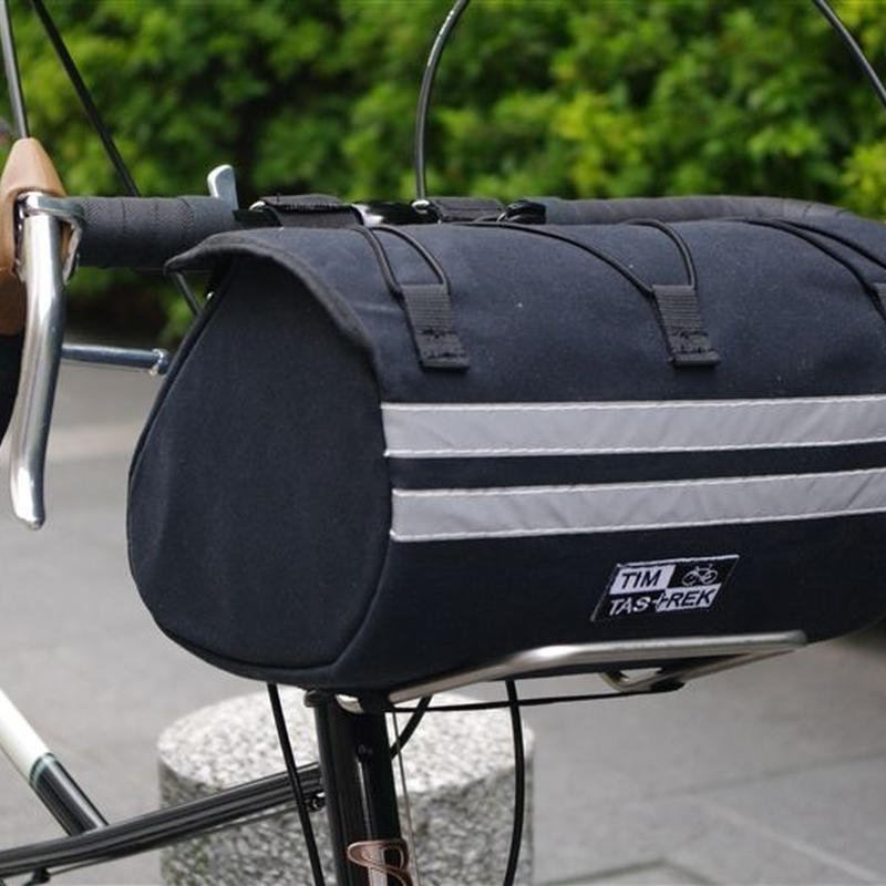 TIM TAS + REK / Racing front bag  BLACK