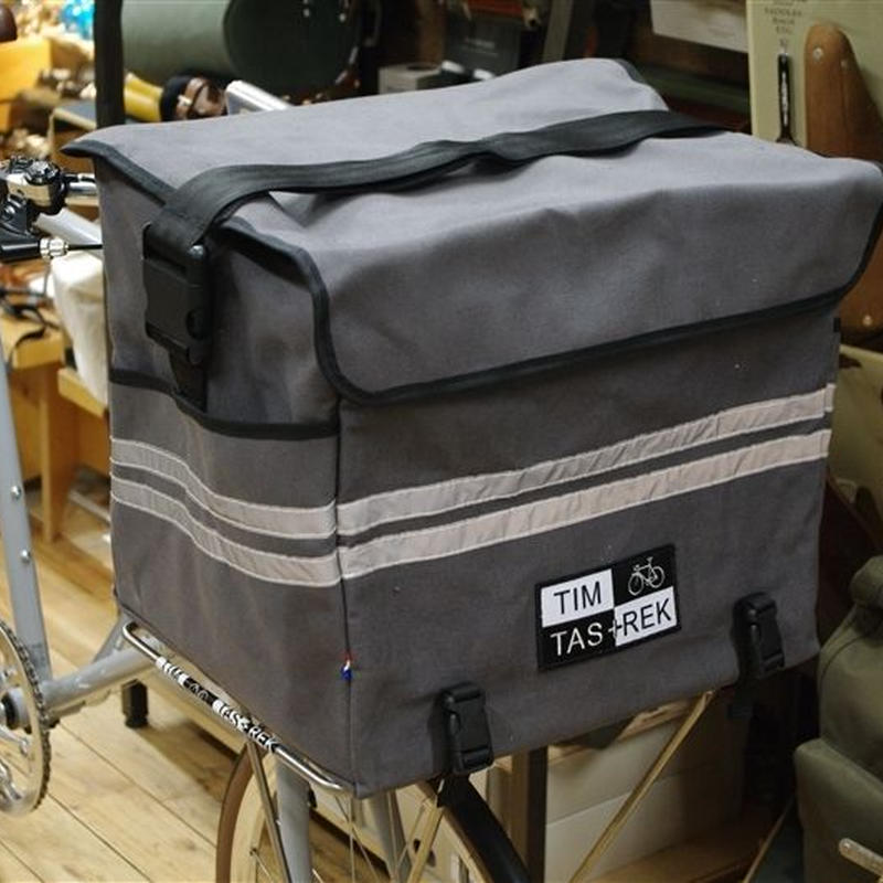 TIM TAS + REK / Porteur bag large GRAY