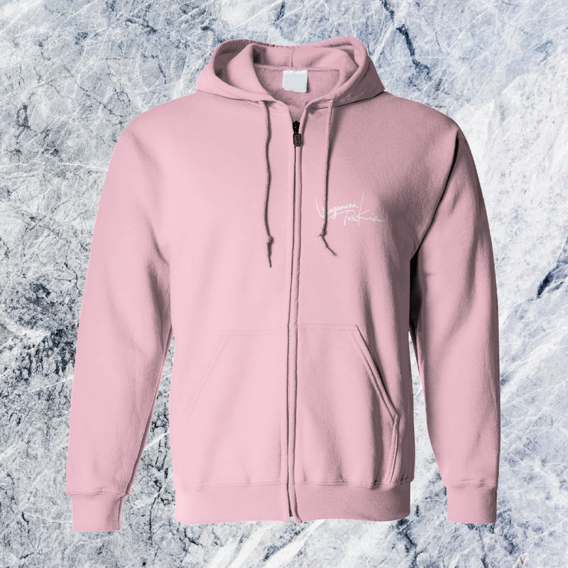 Rakia Zip up parka  -Pink-