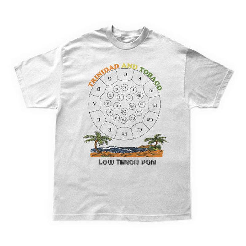 音階付きロー・テナーパンTシャツ