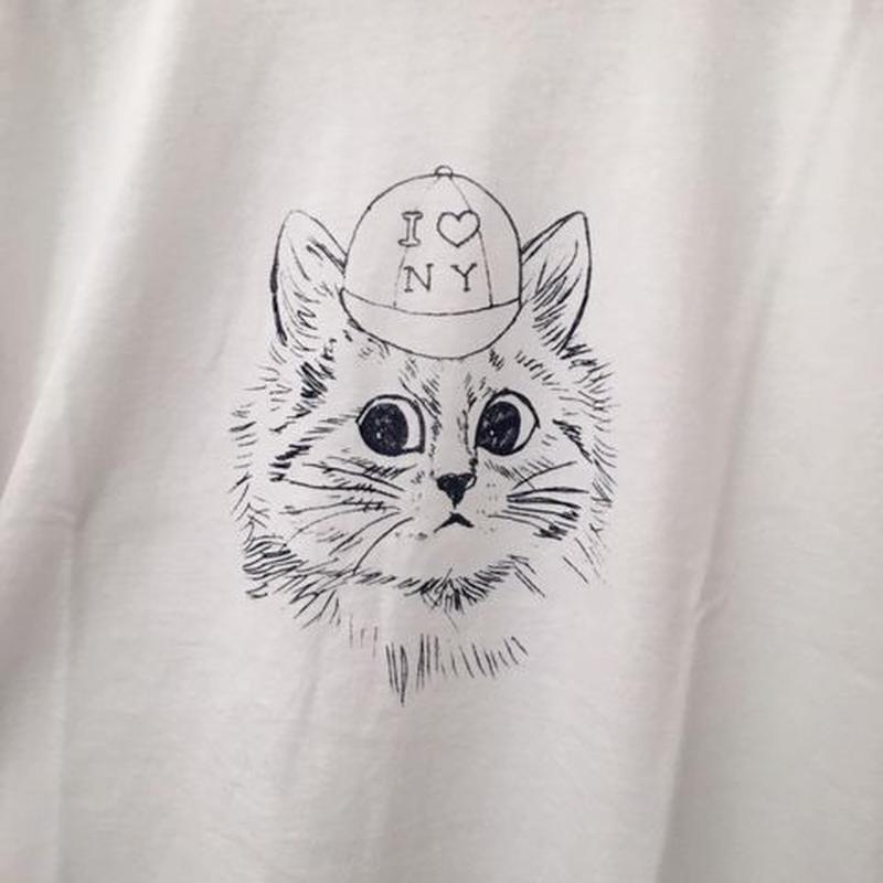 New York Cat T-Shirts White ニューヨークキャット Tシャツホワイト