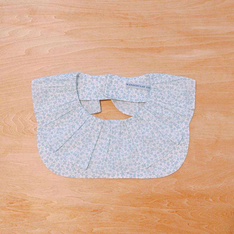 Ruffle Collar Liberty print ラッフルカラー リバティプリント