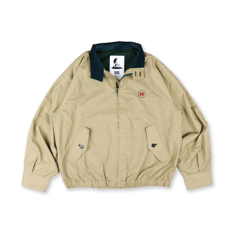 Nylon Harrington jacket