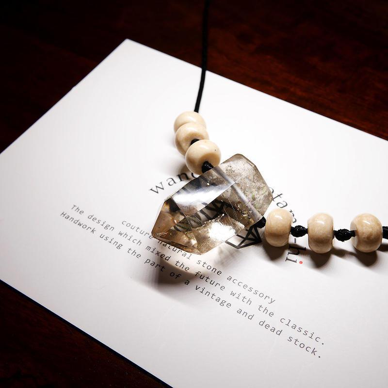 オーダーナンバーA108615【 K様ご予約分 】ガウリシャンカール産ヒマラヤ水晶 ネックレス
