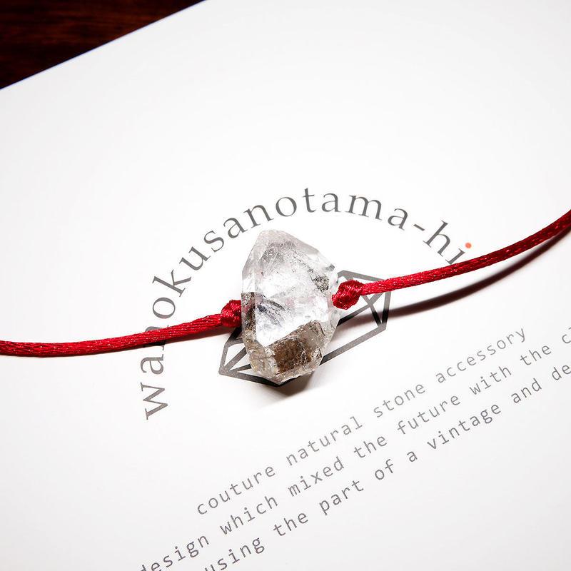 パキスタン産ヒマラヤ水晶クリスタル ネックレス D