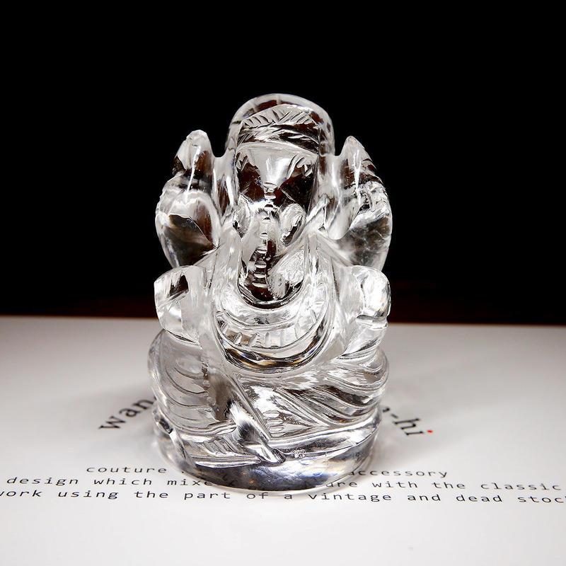 幸運の神ガネーシャ神像  63g