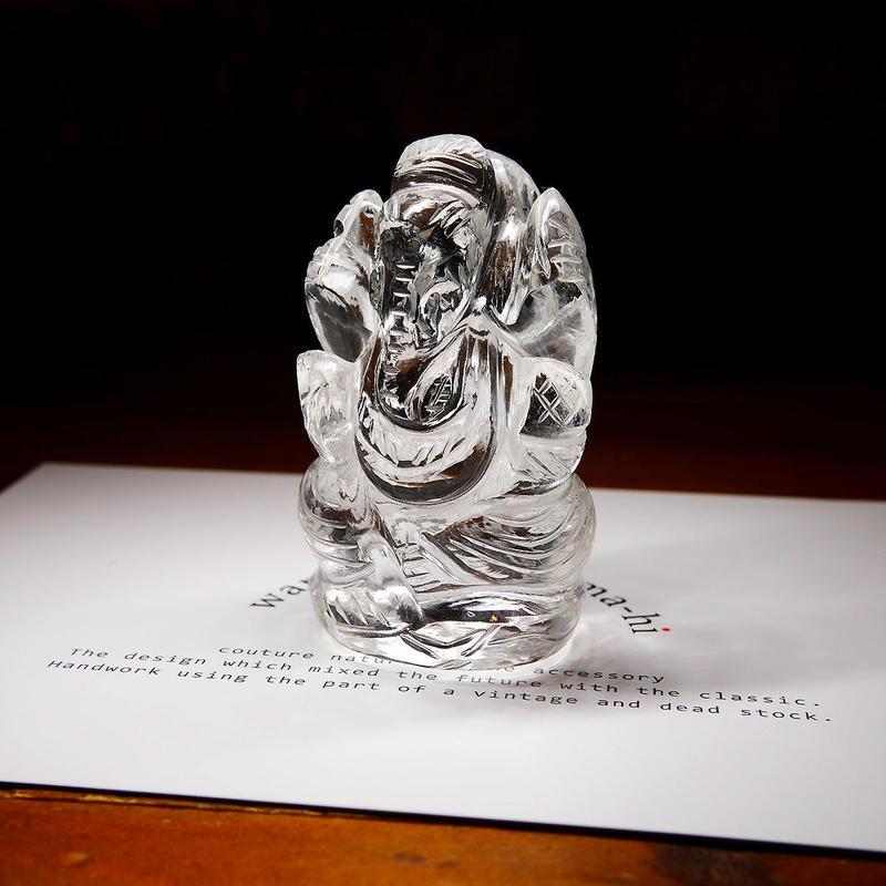 幸運の神ガネーシャ神像  GQ5