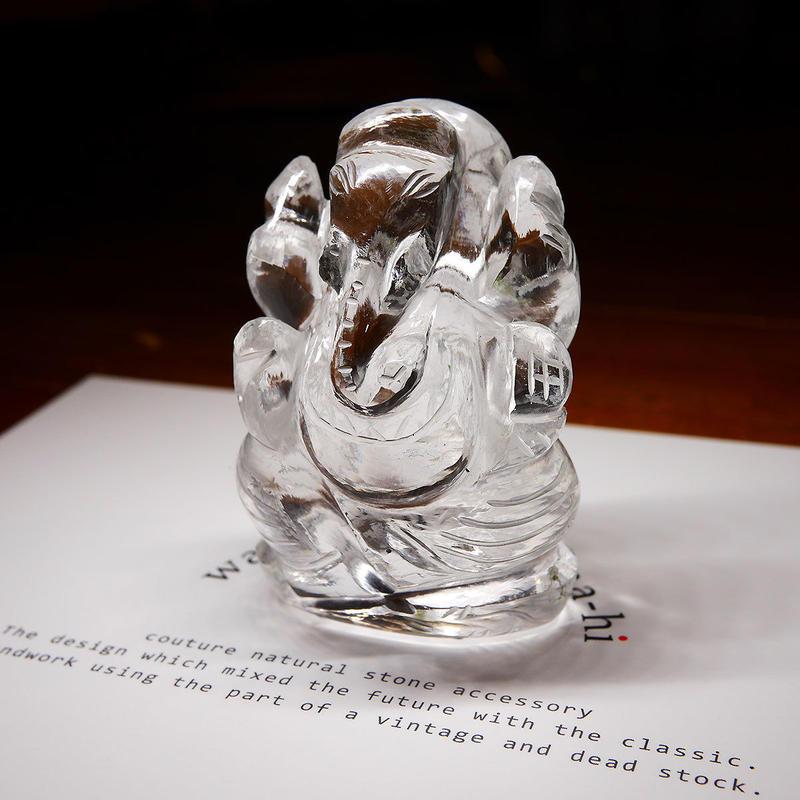 幸運の神ガネーシャ神像  GQ4