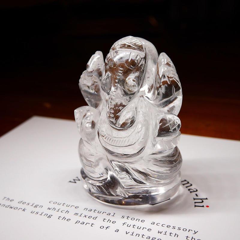 幸運の神ガネーシャ神像  GQ3