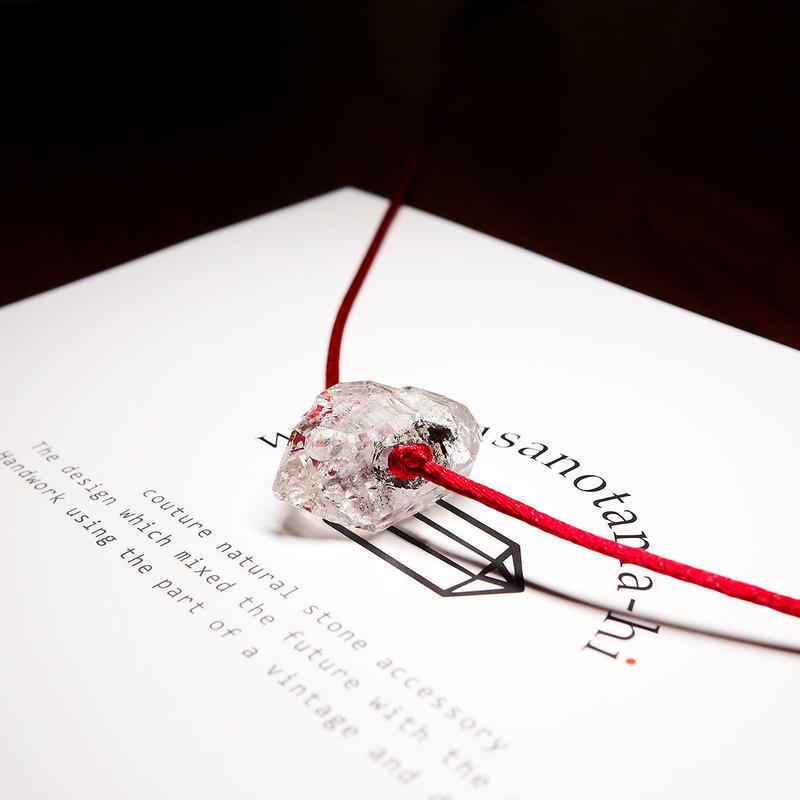 オーダーナンバーA108702【 T様ご予約分 】パキスタン産ヒマラヤ水晶クリスタル ネックレス