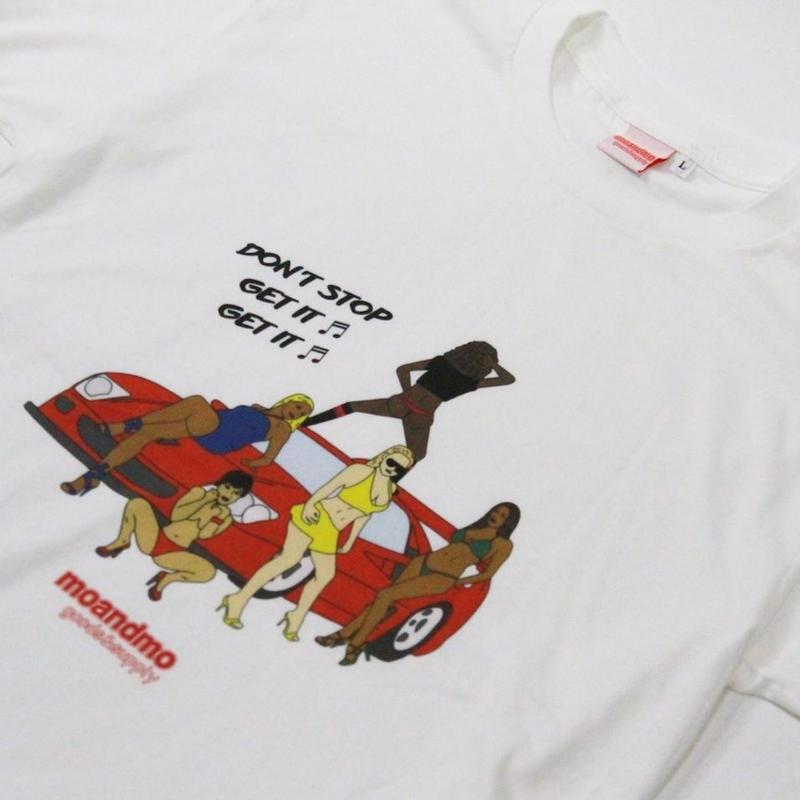 MOANDMO GOODS&SUPPLY - DON'T STOP GET IT Tee