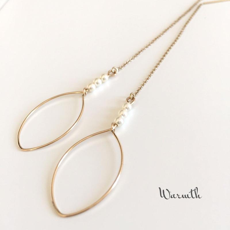 14kgf/oval hoop&Pearl