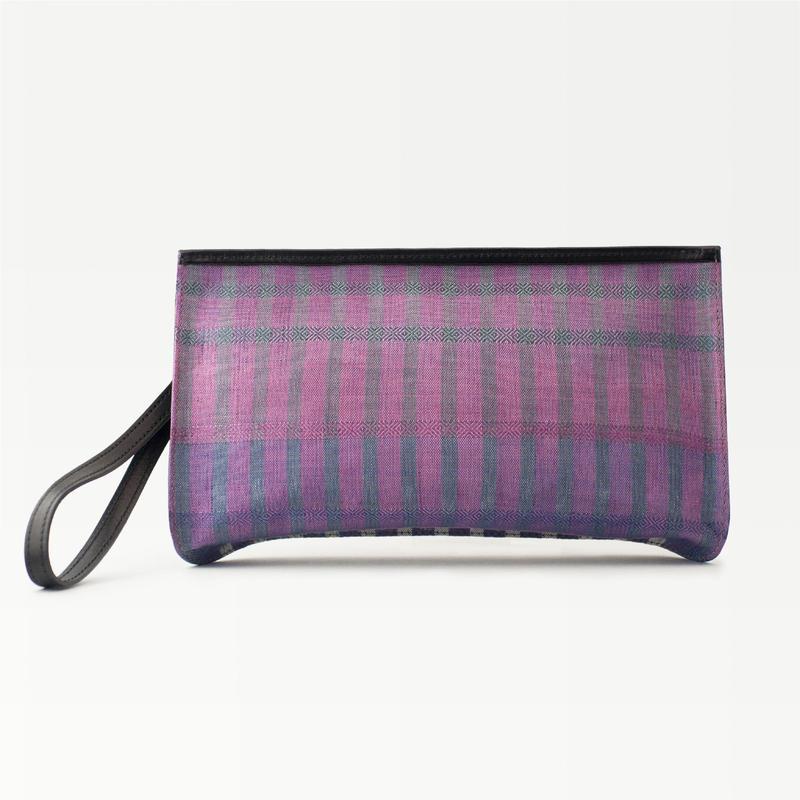 CLUTCH BAG –usumurasaki–