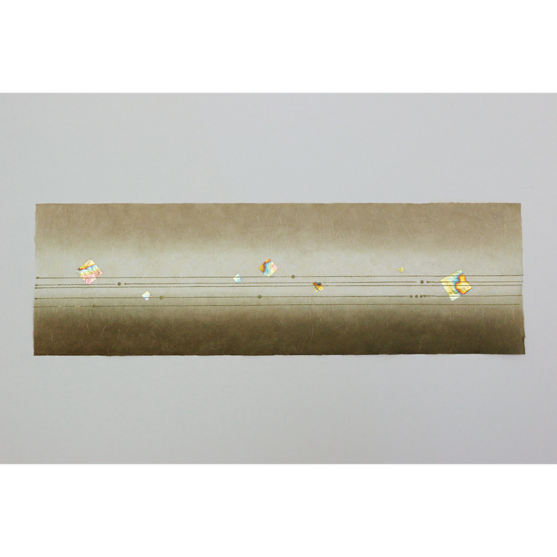 創作デザイン和紙(箔入り)(商品番号:as-18603)