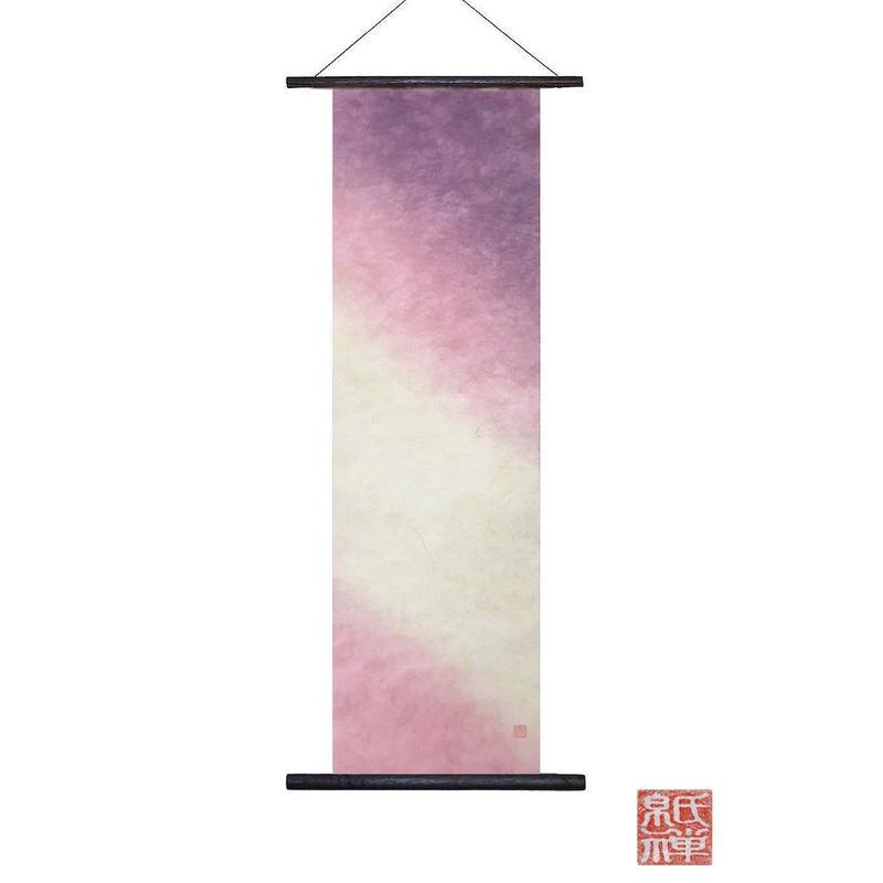 創作和紙 インテリアタペストリー「紙禅」~Shi-Zen/手染め00-01-5