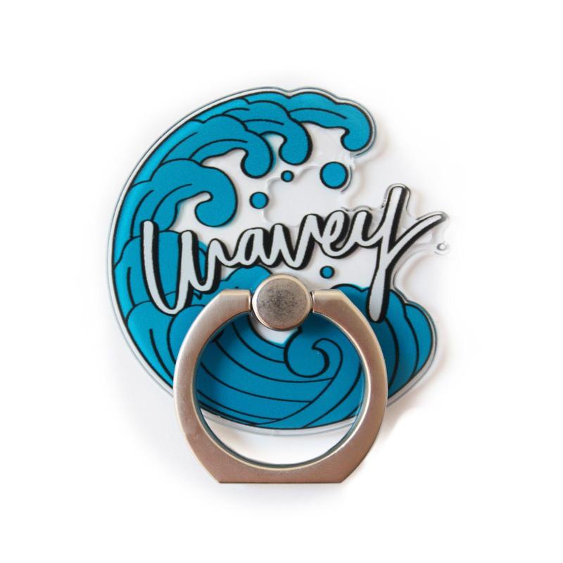 Wavey Iāpana logo bunker ring