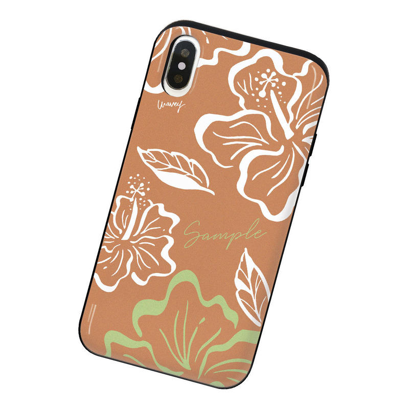[Custom] Vintagey PUA ALOALO -ʻAlani- iPhone case + IC card