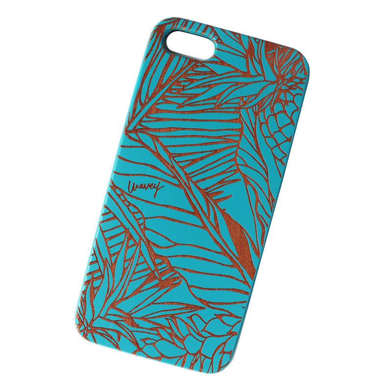 LĀʻAU iPhone case -Pililani- BLUE