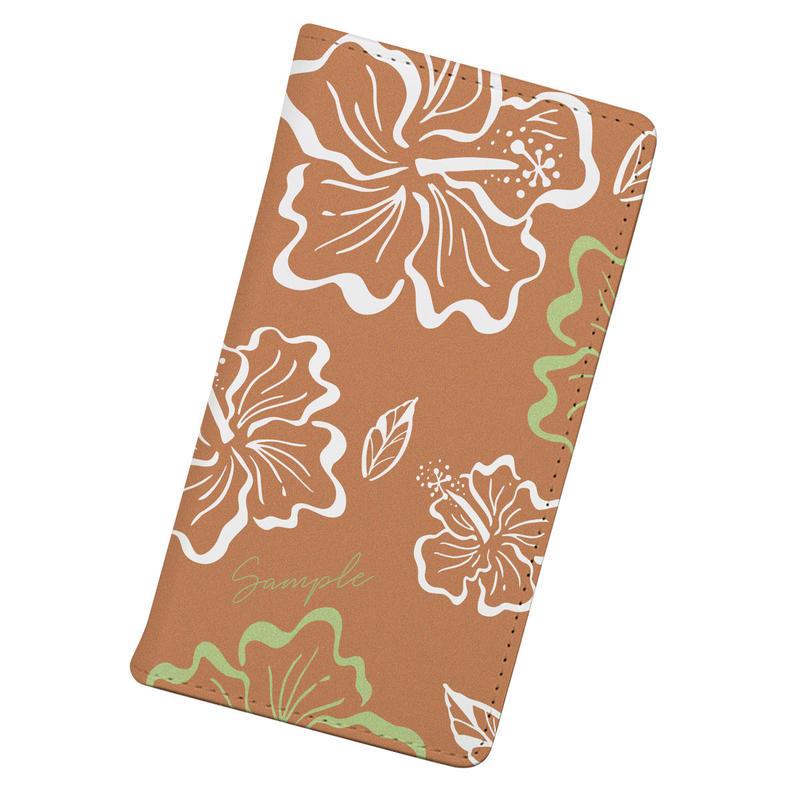 [Custom] Vintagey PUA ALOALO -ʻAlani- iPhone case (手帳型)