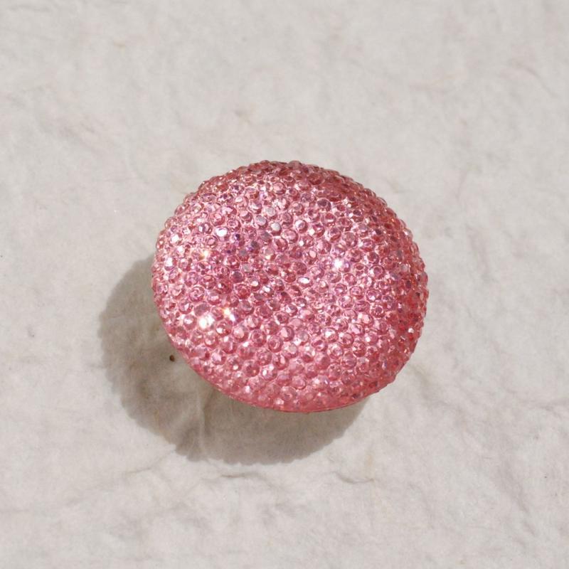 キラぷるゼリーの帯留(シャンパンロゼ)