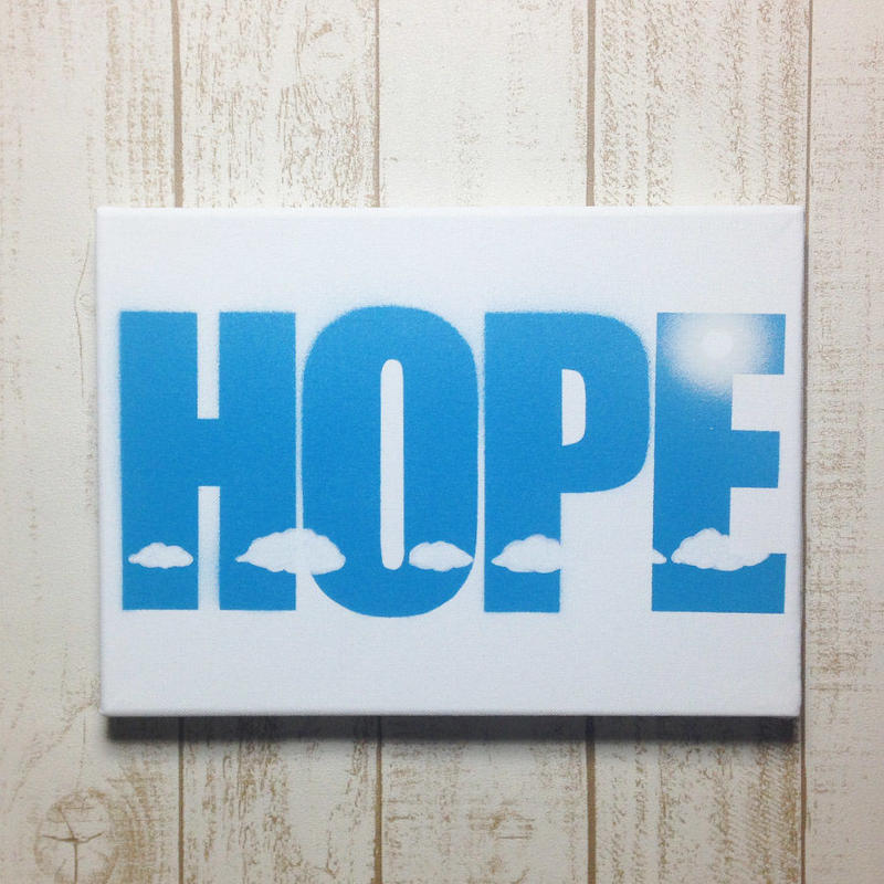 【HOPE】 キャンバス作品