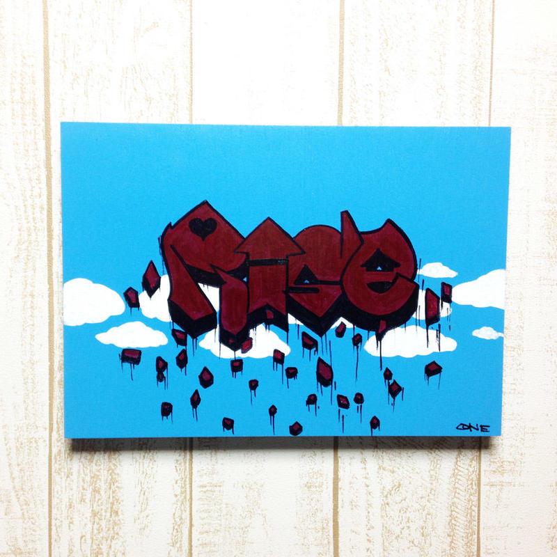 【Rise】 キャンバス作品