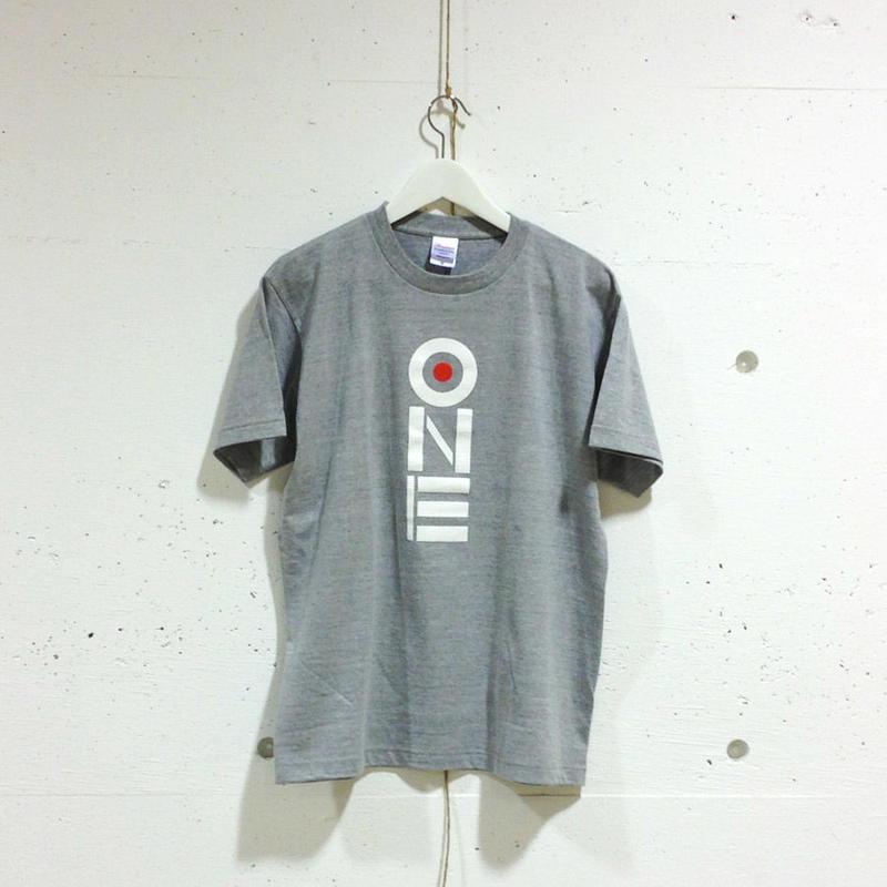 ONE-Tシャツ(gray/薄手)
