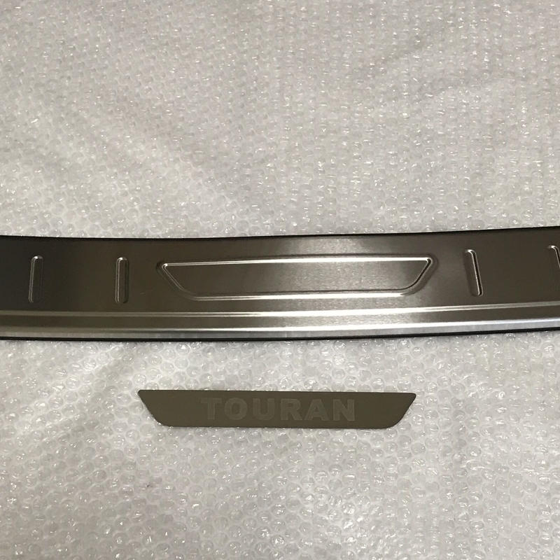 VW 現行 ゴルフ トゥーラン リアバンパースカッフ プロテクター