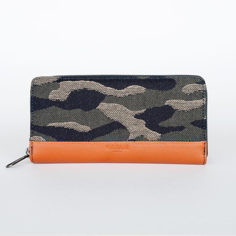 1602005-3 長財布(迷彩)