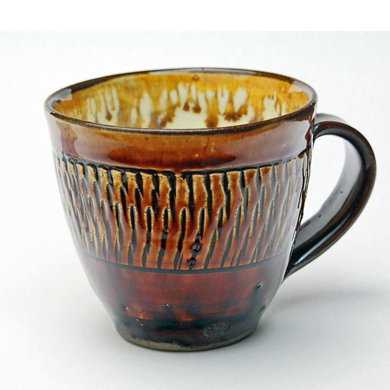 小鹿田焼 マグカップ b