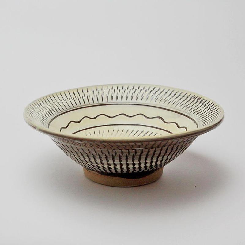 小鹿田焼 7寸深鉢